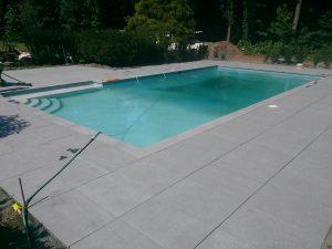 Dark Gray Granite - pool